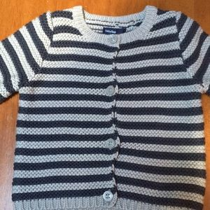 Baby Gap striped button down cardigan